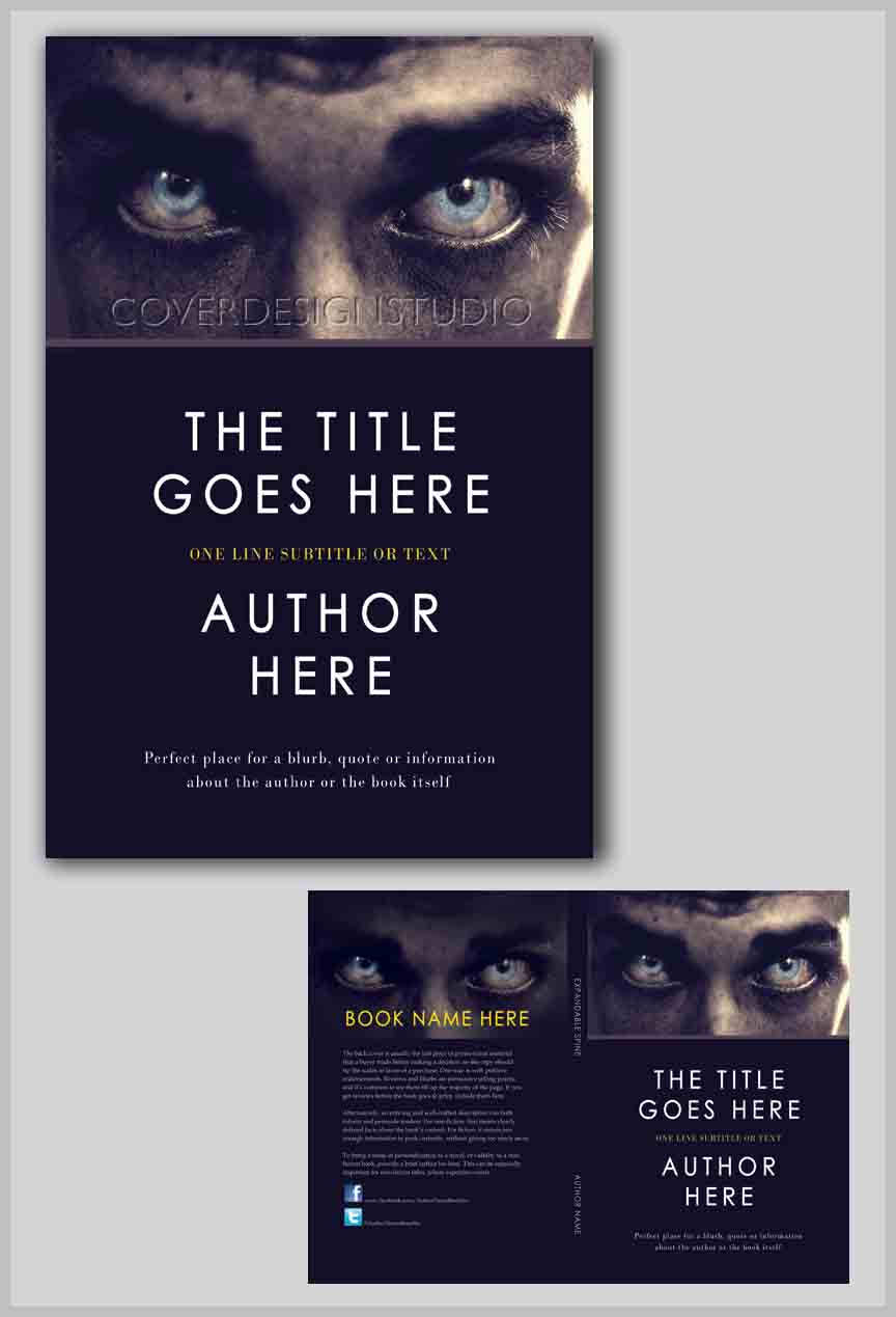 Book Cover Design Websites : Those eyes book cover design studio