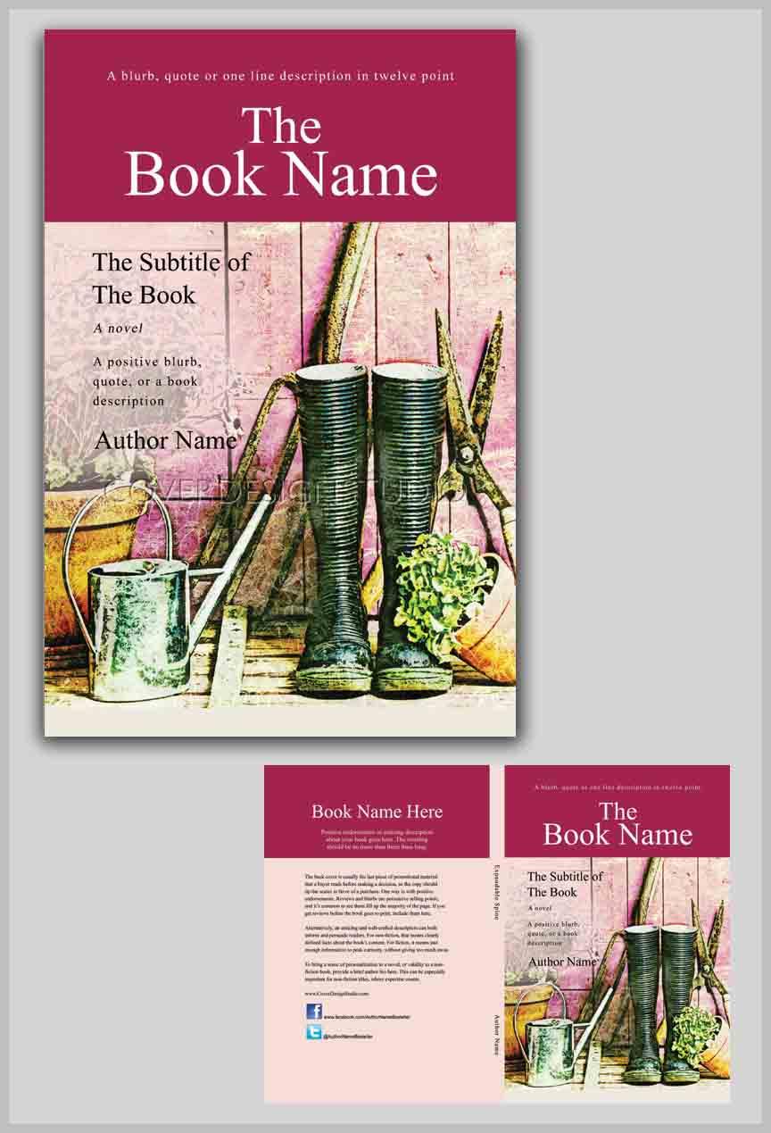 Book Cover Design Tool : Garden tools book cover design studio